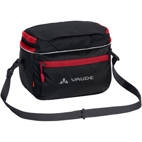 VAUDE Road I Borsa da manubrio, black/red